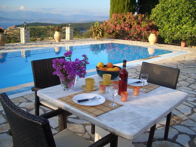 Villa Bacchus Kassiopi Corfu, vacation rental in Corfu