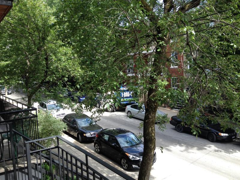 vista desde el apartamento (calle)