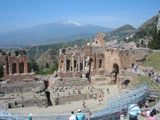 Greek Teathre of Taormina