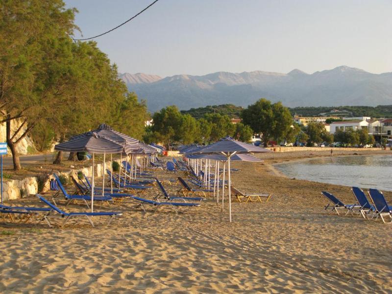 The beach of Almirida