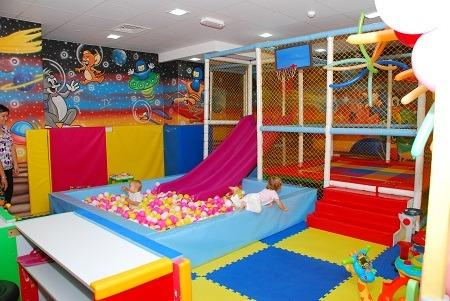 Kids play area available in next building