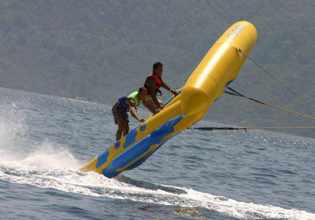 Water Sports at the Beach