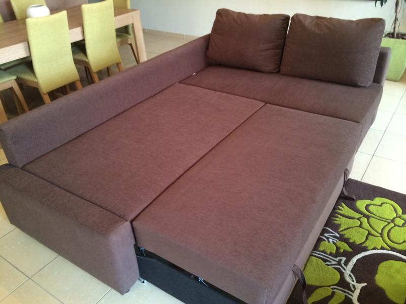 Sofa beds converts into a double bed