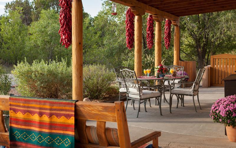 Enjoy the large covered porch. It's the perfect place for sipping your morning coffee!