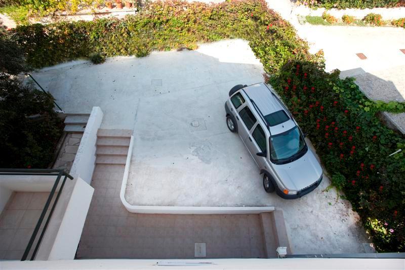 parking on backside