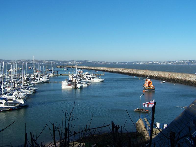 Brixham Harbour on sunny day