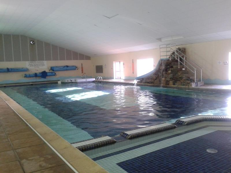 25m pool with toddler area, bubble pool and slide, Sauna and steam room on poolside (charge applies)
