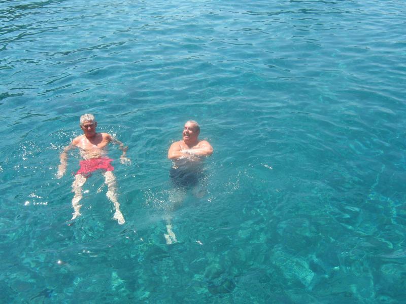 The warm Blue Sea by The Villa