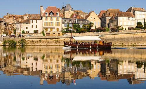 Bergerac - Traditional sailing barge river trip.