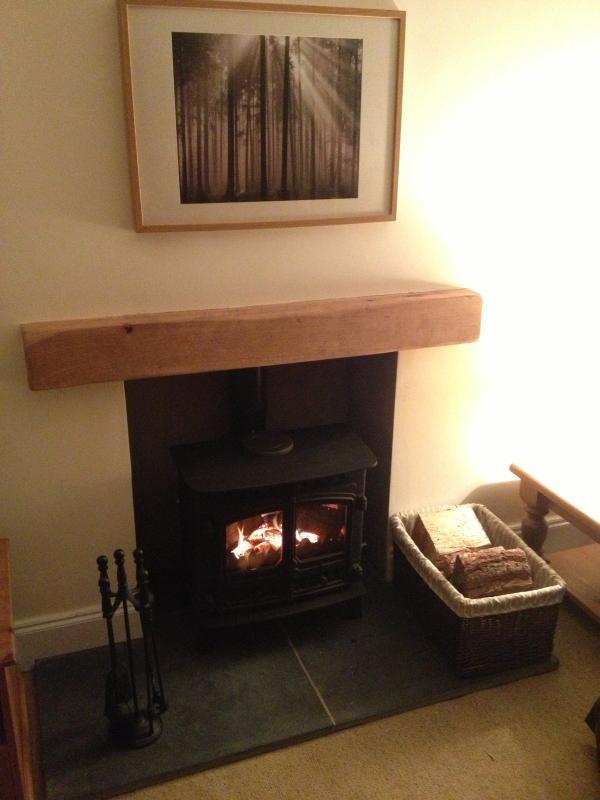Wood burning stove - ahhhh
