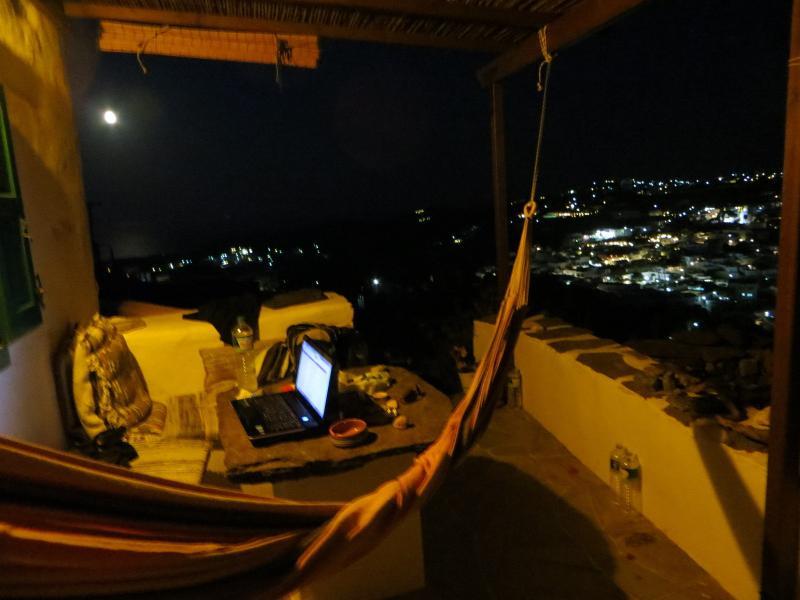 night view of Apollonia
