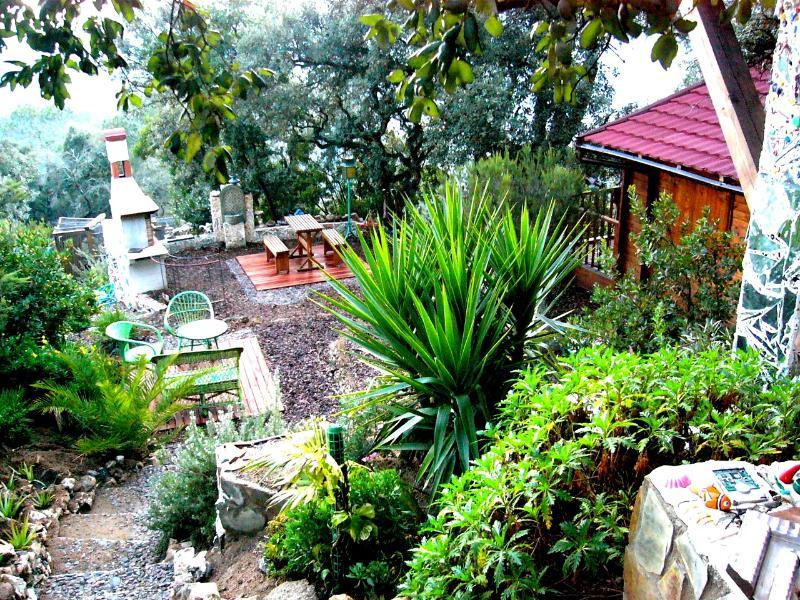 Jardins sont magnifiquement conservés et conçus