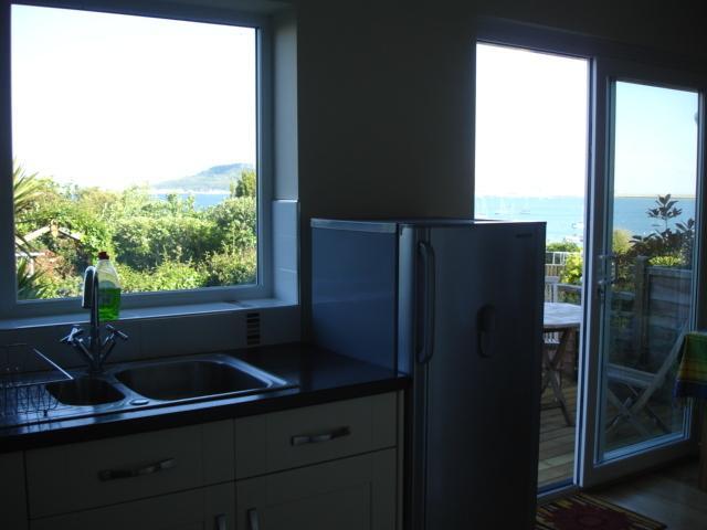 View from kitchen sink