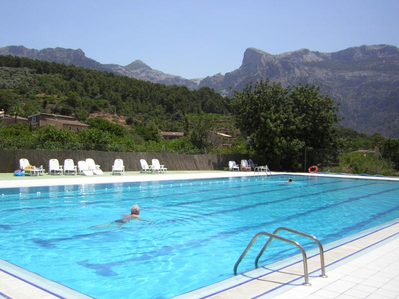 Soller public swimming pool