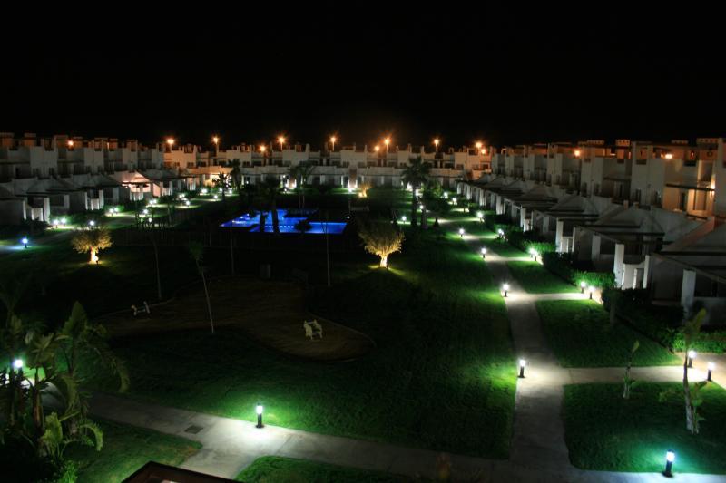 View of Jardine 9 at Night
