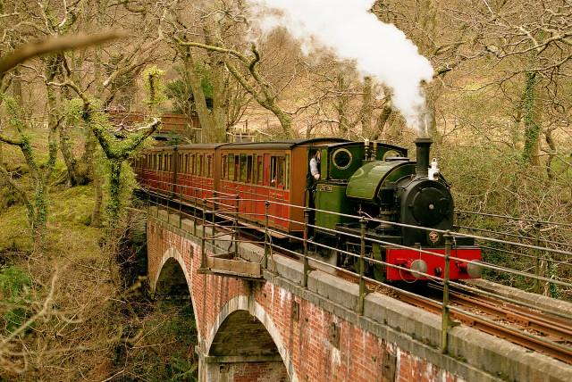 The Talyllyn Railway is just 5 mins walk