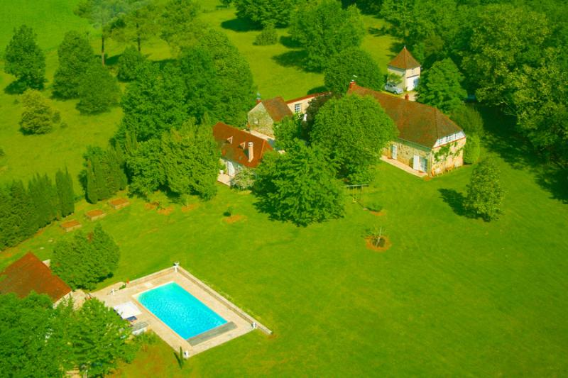 Main farm nearby the gîte, with free access to our Heated Pool, has to be shared with a few persons