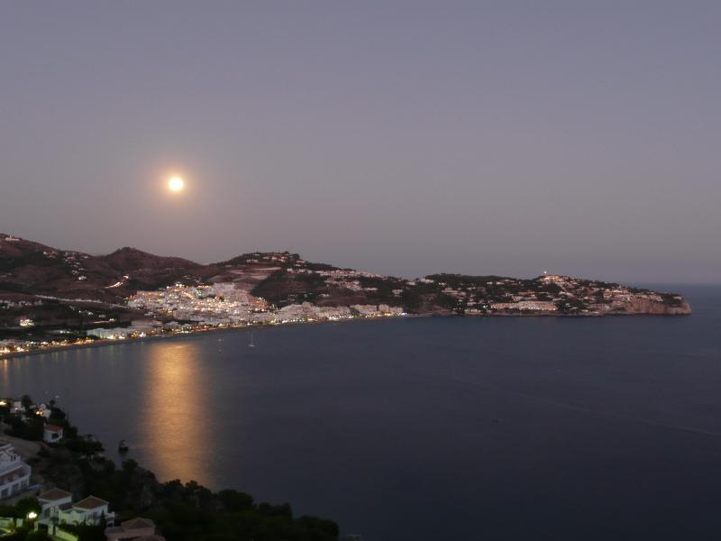 La Herradura Bay - seen from the house.
