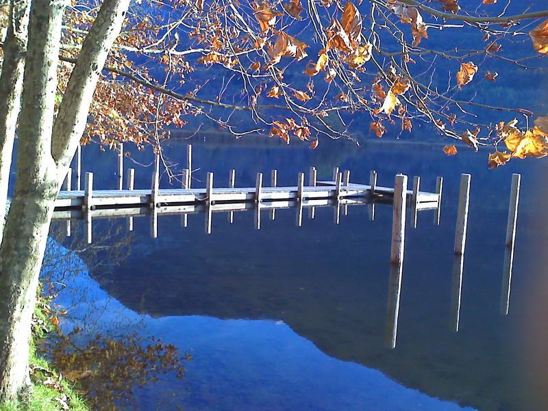 Riflessi dal lago