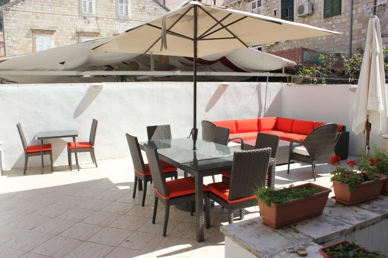 Private Terrace with New Outdoor Furniture