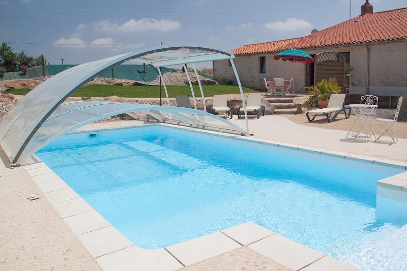Gite with swimming pool