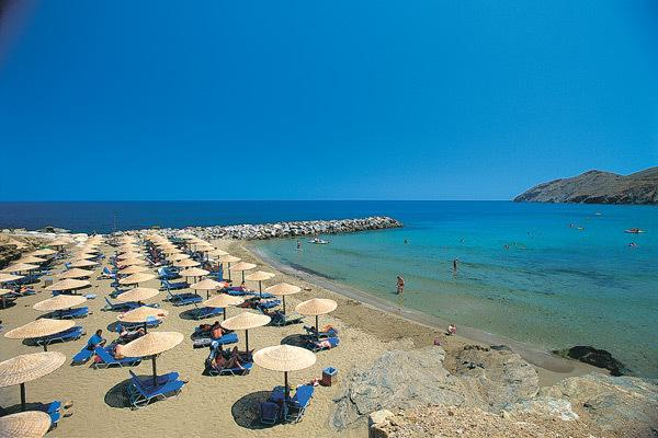 The beach in Panormo, just 40 meters away from the villa!