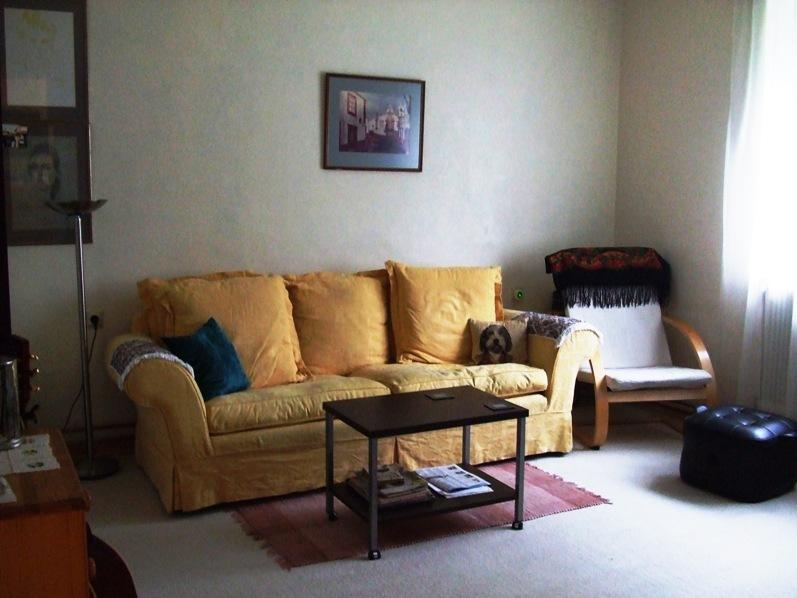 Comfortable lounge with TV and DVD