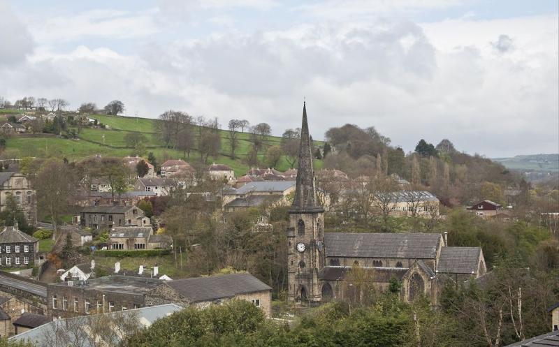 Ripponden village