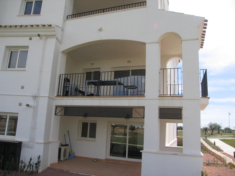 Balcony of apartment overlooking 17th hole (2nd floor)