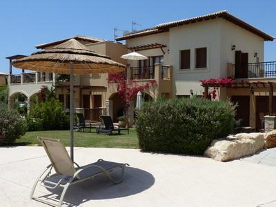 Oceanus apartment from poolside