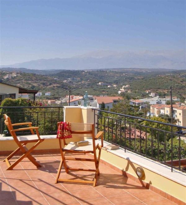 Top terrace with stunning views