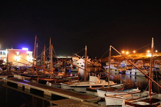 Porto Stintino di notte