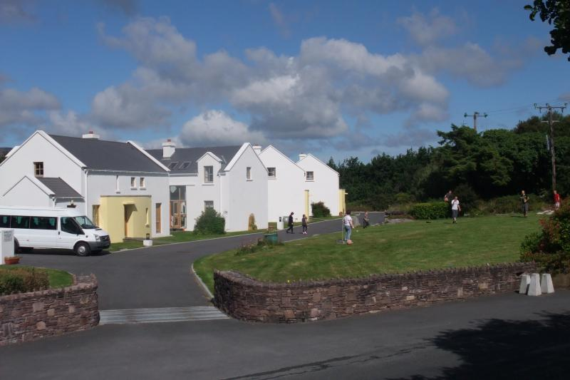 Outside Gardens of Achill Cottages