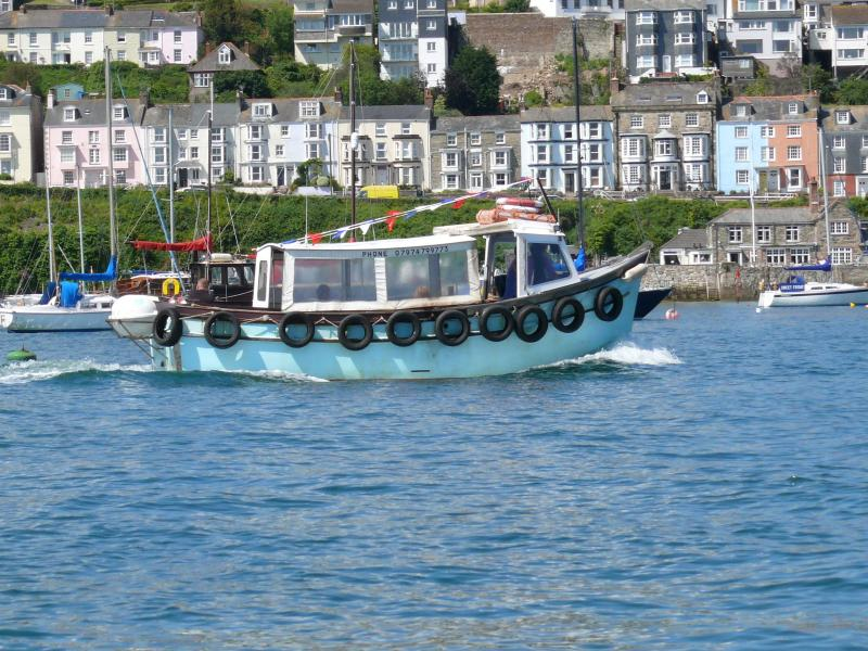 The passenger ferry runs from Flushing to Falmouth every 30 minutes