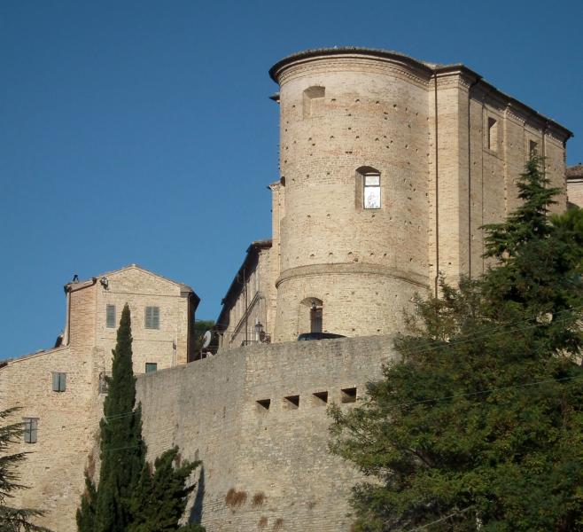 One of the towers of Montelparo