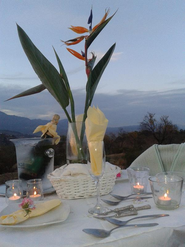 Mountain Top  Proposal, Anniversary or Birthday Surprise! Champagnes on ice.