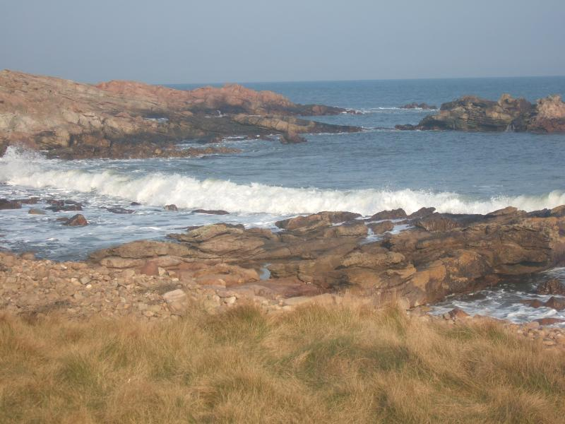A different view of the award winning Kingsbarns beach