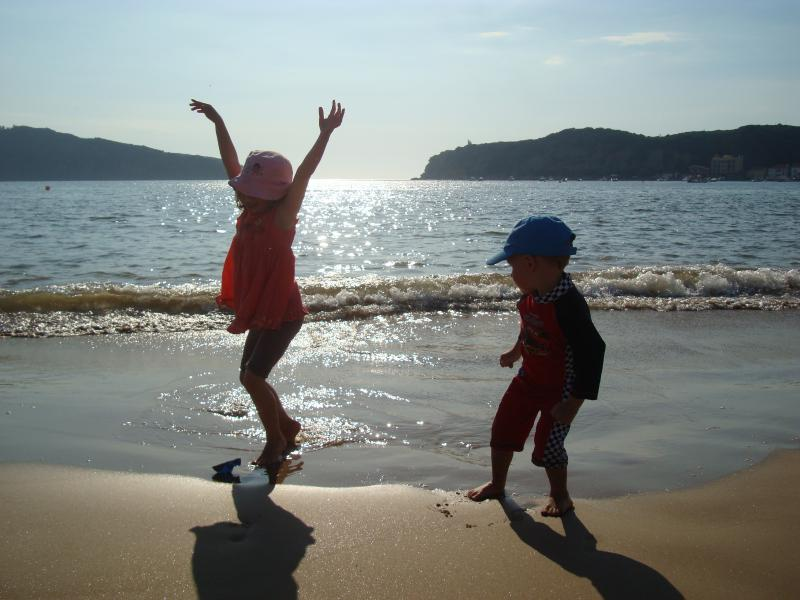 A beach that is perfect for children