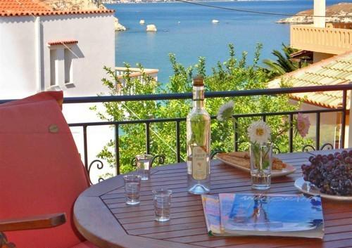 First floor balcony-have a cooling drink and relax gazing at the sea...