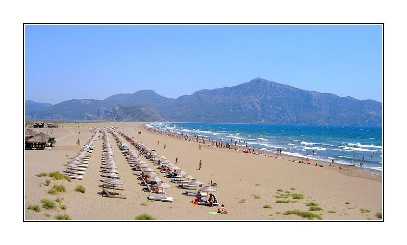 Iztuzu beach - 30 minutes by slow boat  or 15 by minibus - voted No 1 in Turkey 2013 by TripAvdisor