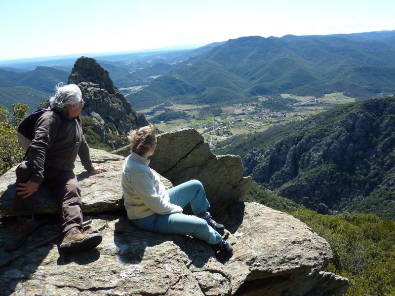 Walking in Languedoc National Park