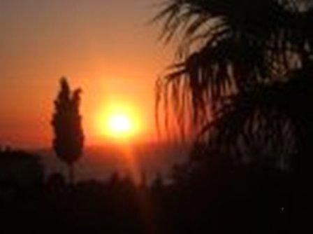 Sunset from Main Balcony