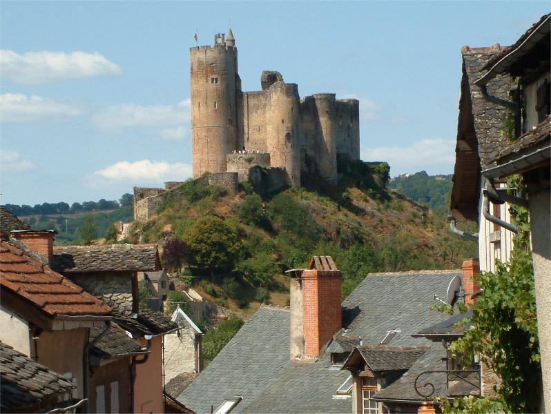 Najac's unique and historic castle - 'La Fortresse Royale'