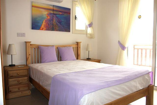 Double Bedroom, private balcony & fitted wardrobes