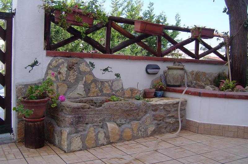 'Pilozza antica' veranda esterna