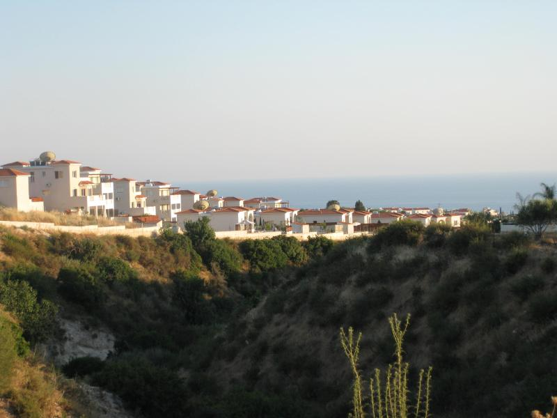 View from back of Apartments
