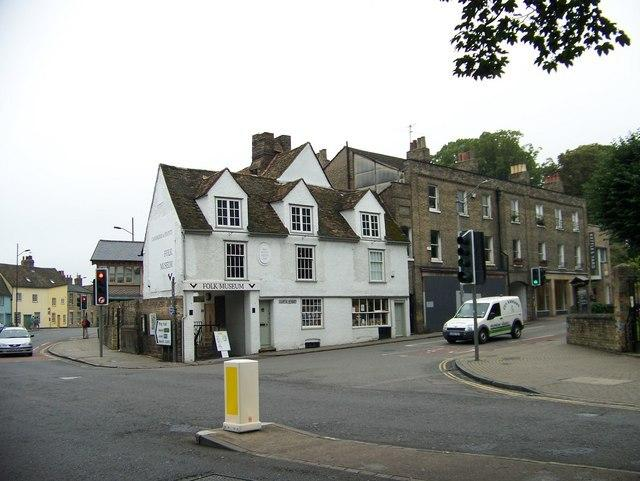 2 of our close neighbours: Folk museum and Kettles Yard. 100 yards.