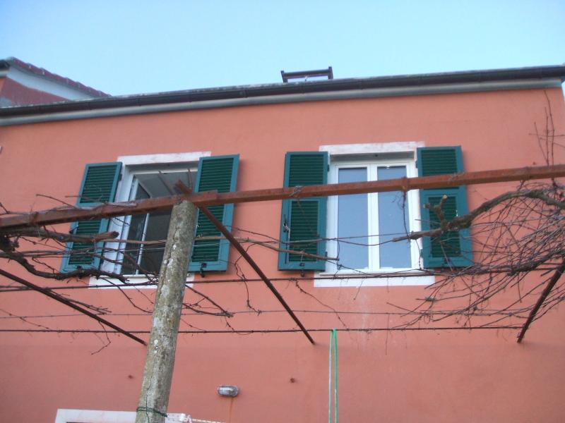 Le finestre della casa e il lucernario