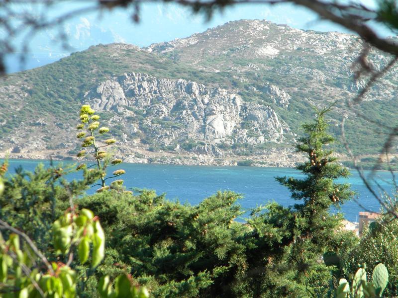L'isola di Santo Stefano vista dal salone
