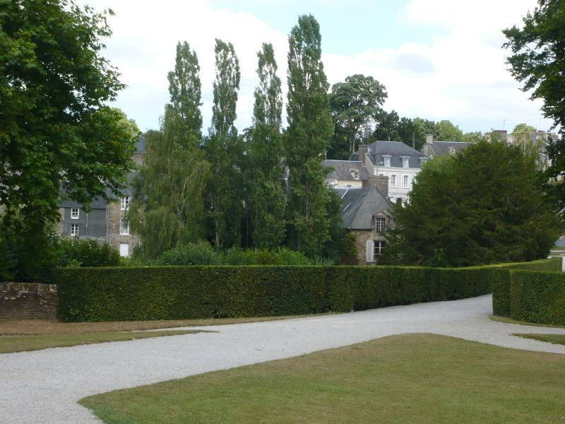 Balleroy from the Chateau gardens